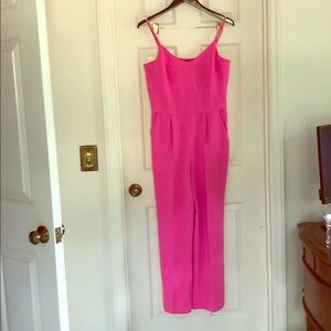 HOT Pink Trina Turk Jumpsuit